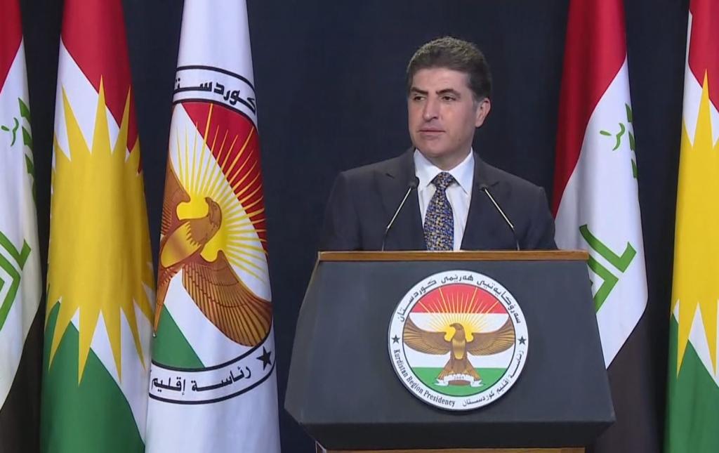 محذراً من تنامي الإرهاب ..رئيس إقليم كوردستان يدعو للتعاون بين البيشمركة والقوات العراقية
